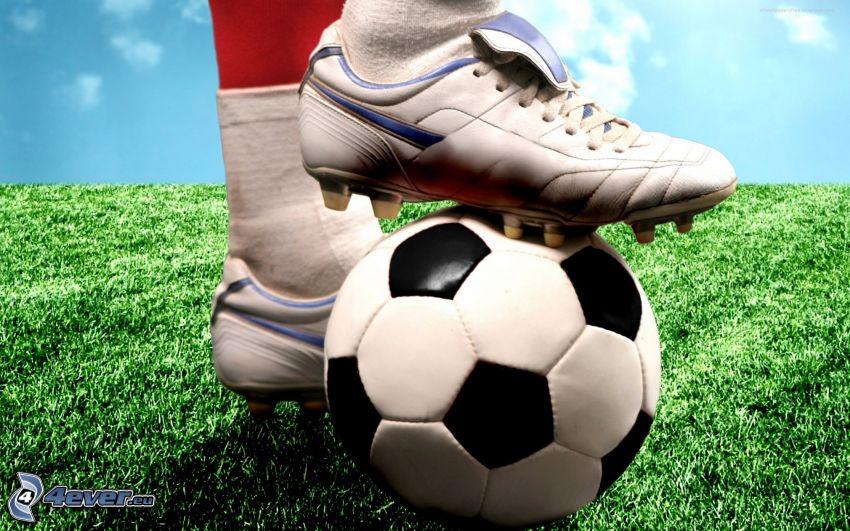 fotboll, fotbollsskor