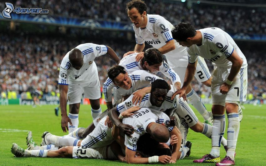 fotboll, Real Madrid