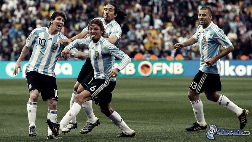 fotbollsspelare, Argentina