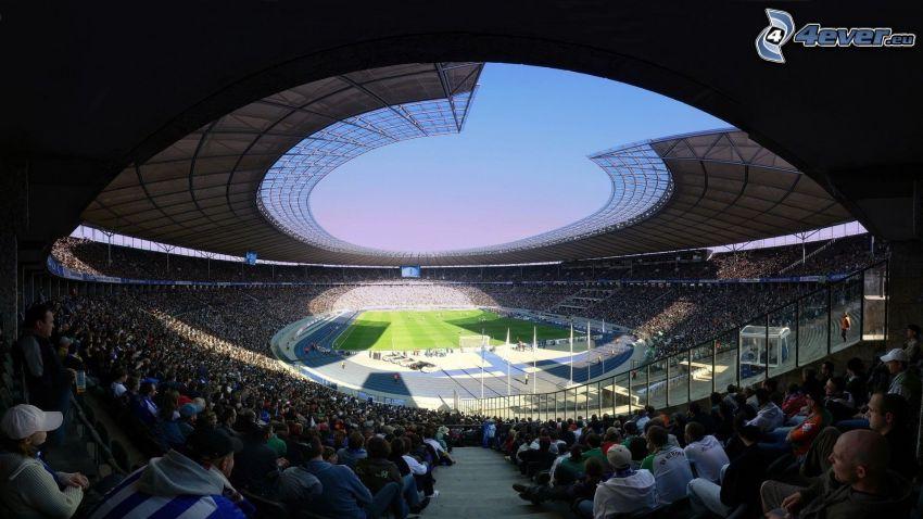 fotbollsstadion, tribun