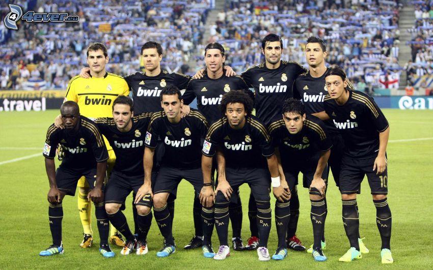 Real Madrid, fotbollslag, fotbollsstadion, fans