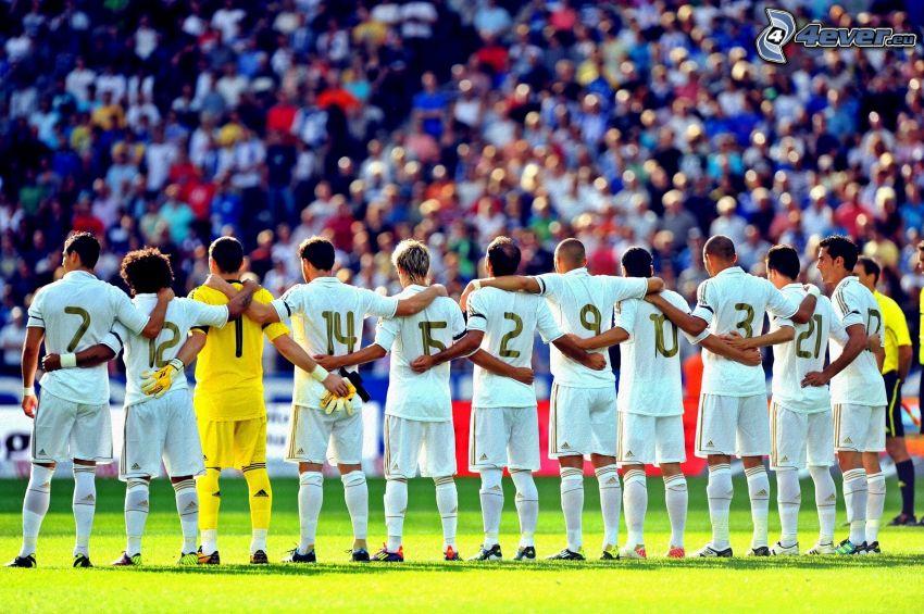 Real Madrid, fotbollsspelare