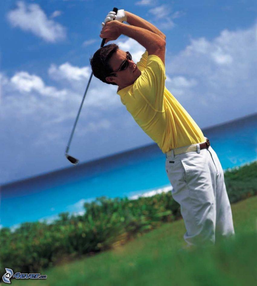 golf, golfspelare