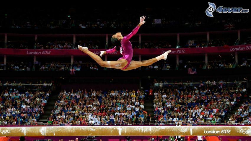 gymnast, hopp, London 2012