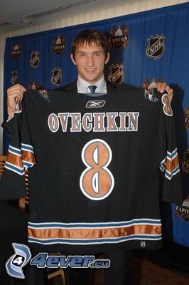 Alexandr Ovechkin, fotbollströja, hockeyspelare, NHL