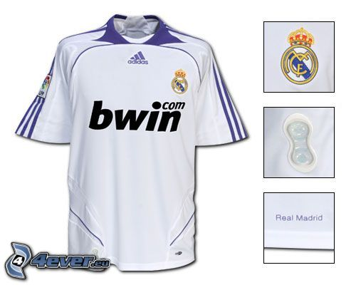 Real Madrid, fotbollströja