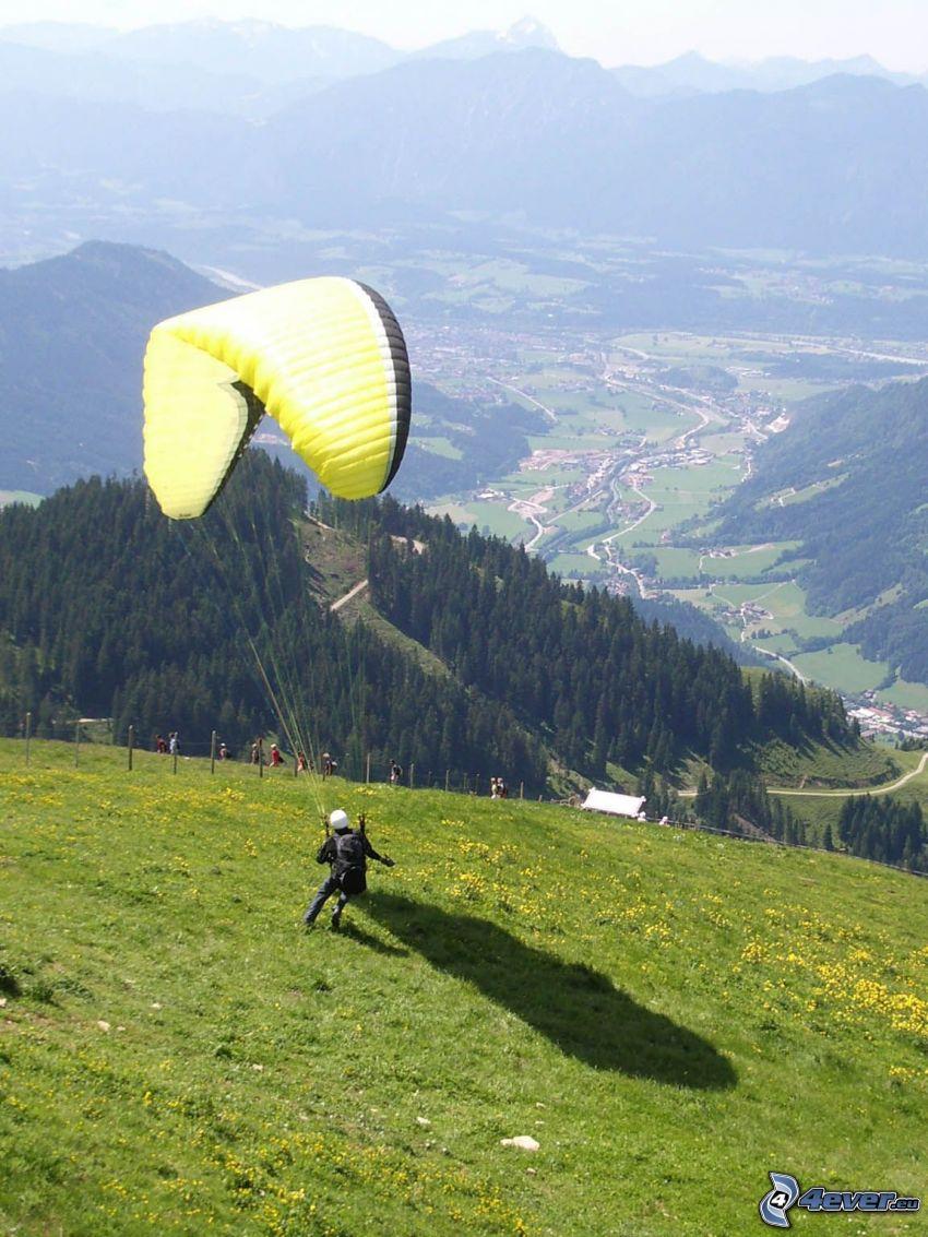 paragliding, dal