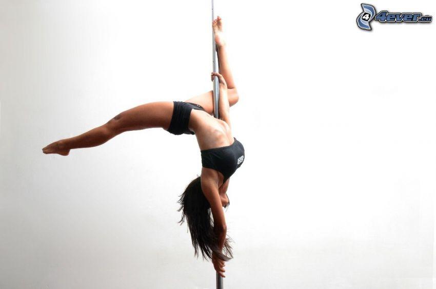 pole dance, pose