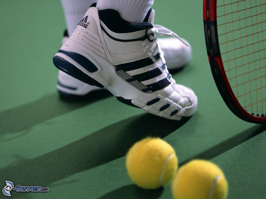 tennis, bollar