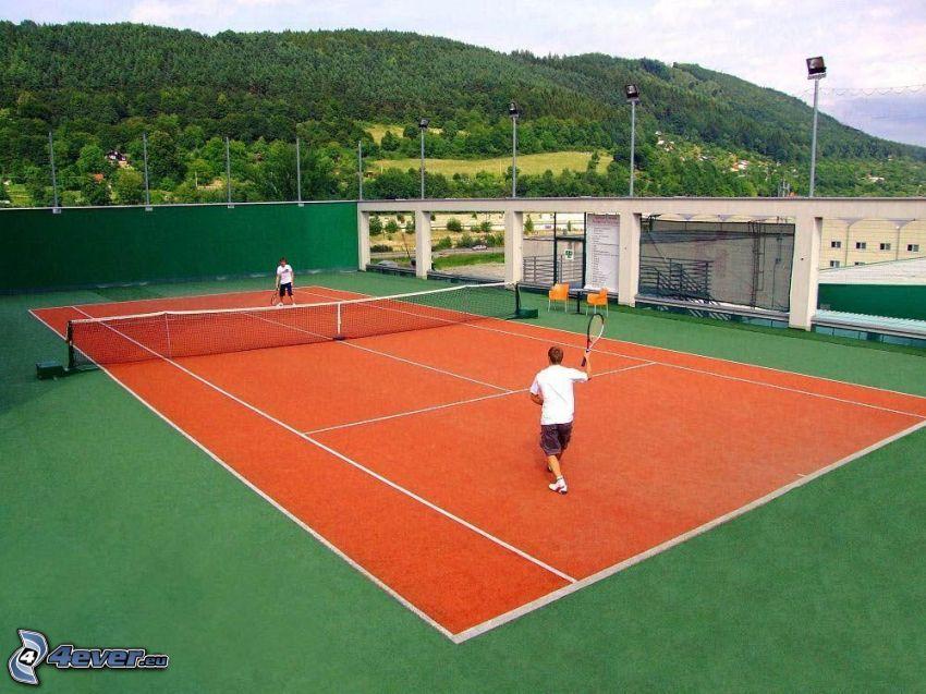 tennis, tennisplan