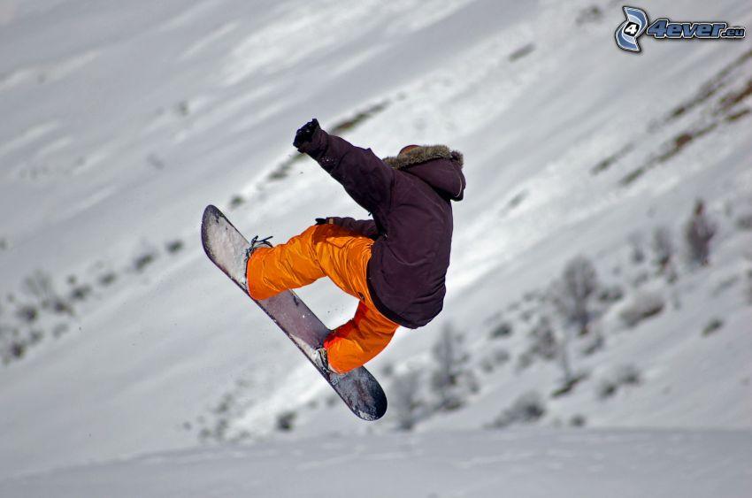 extrem snowboardåkning