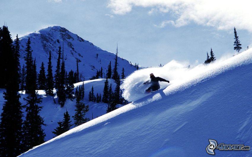 snowboarding, Brighton, Utah
