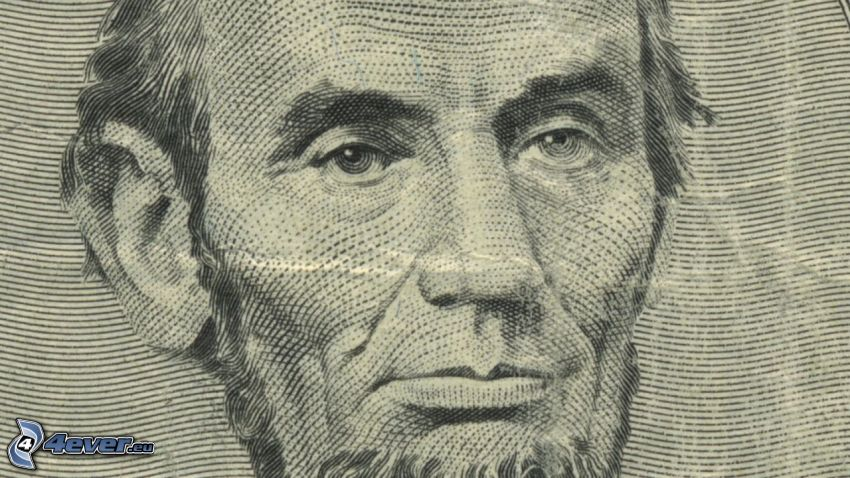 Abraham Lincoln, dollar, sedel