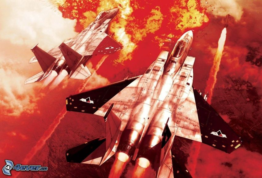 Ace Combat Infinity, jaktplan