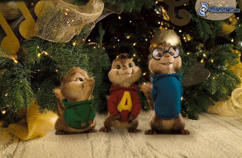 Alvin och gänget, jul
