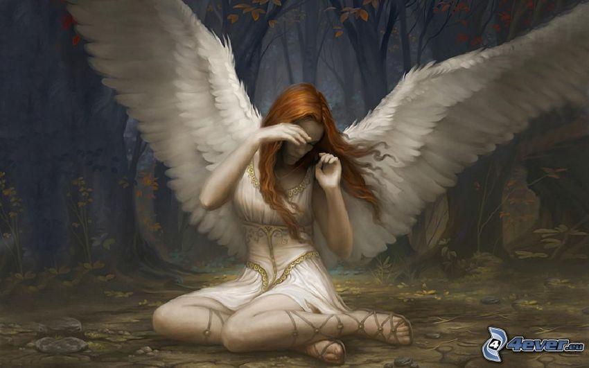 ängel, vingar