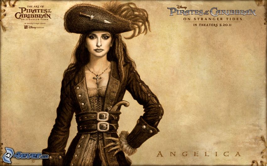 Angelica, Pirates of the Caribbean