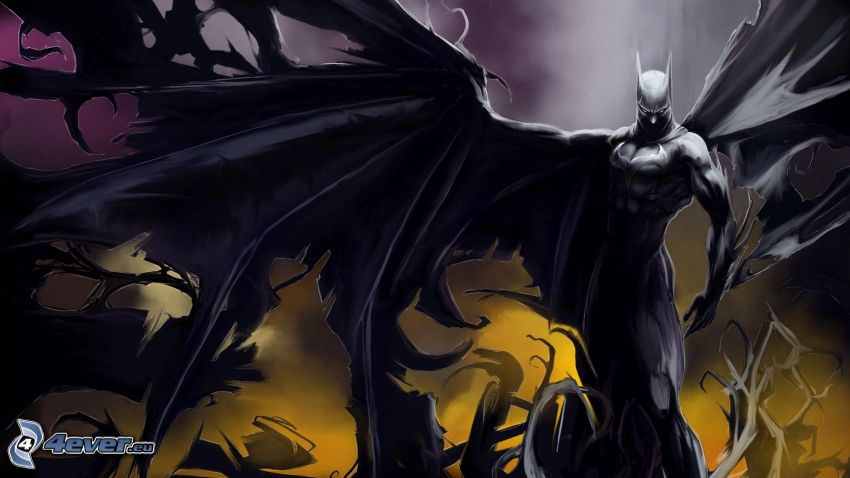demon, Batman