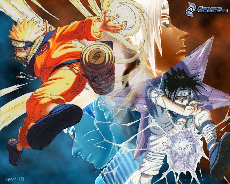 Naruto, Sasuke