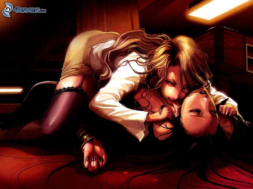 vampyr, anime flicka