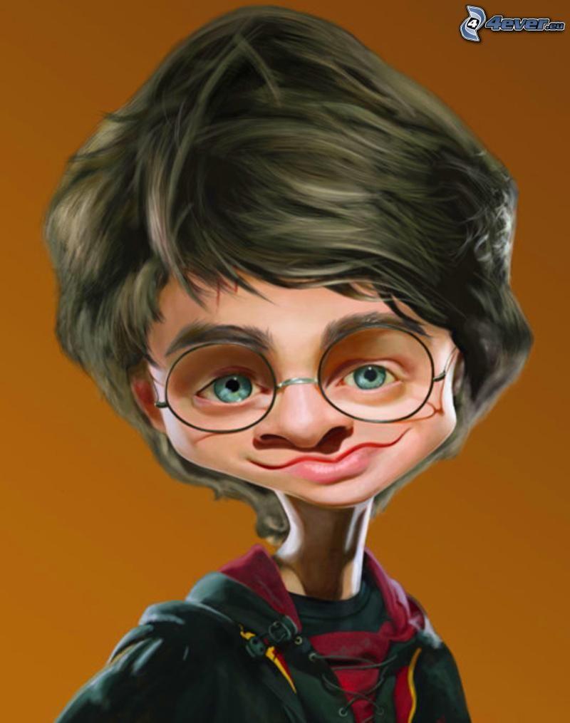 Daniel Radcliffe, krikatur