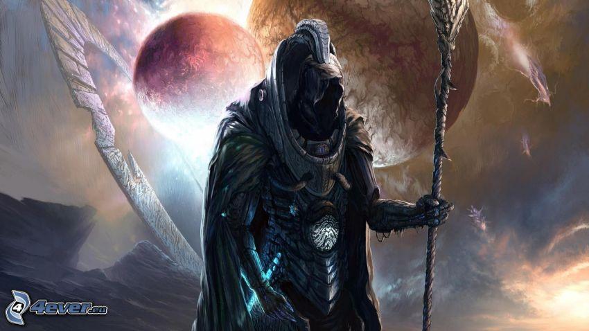 Döden, planeter