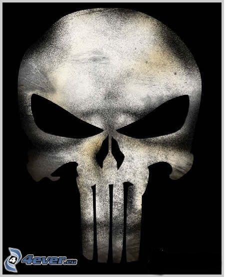 dödskalle, Döden, skelett