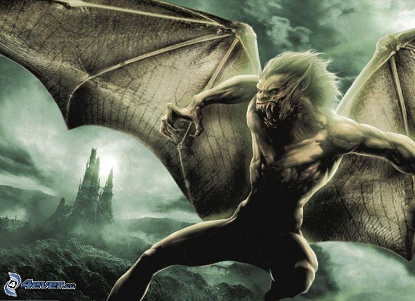 monster, vingar, vampyr
