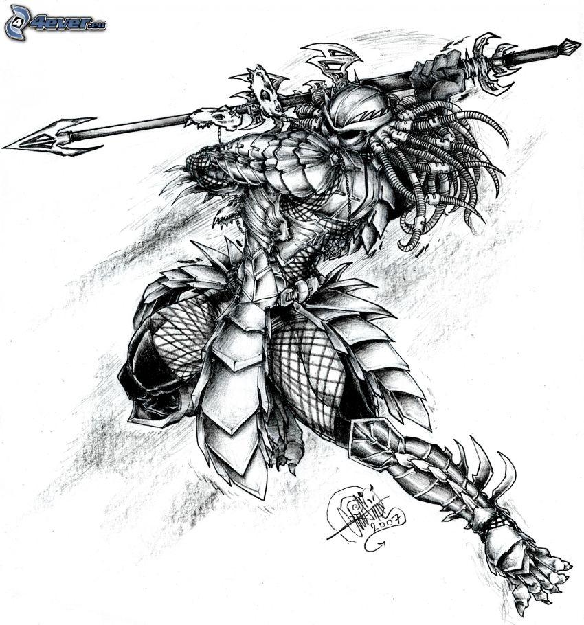 Yautja, mörk krigare