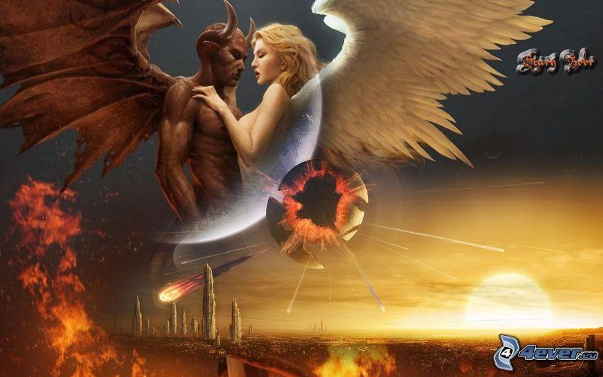 ängel och djävul