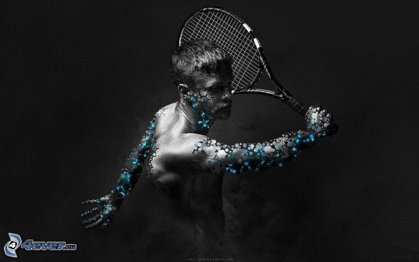 badminton, raket