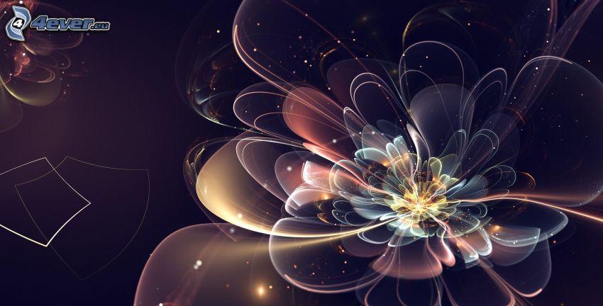 digitala blommor