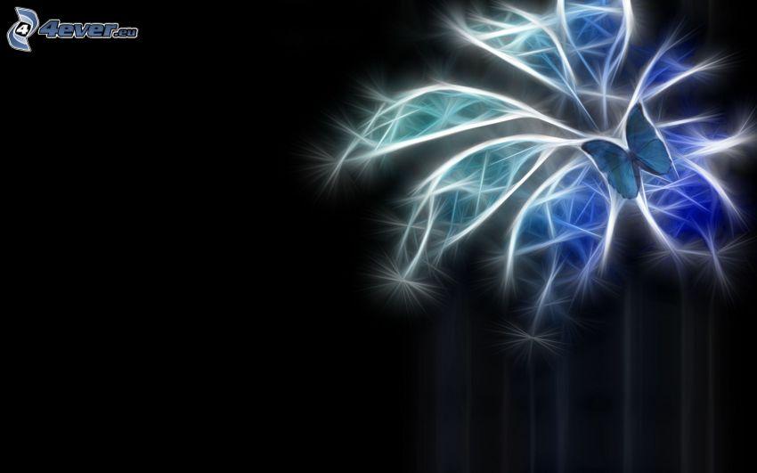 fraktal fjäril