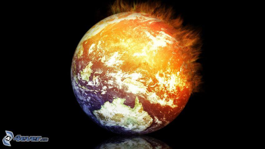 Jorden, eld och vatten