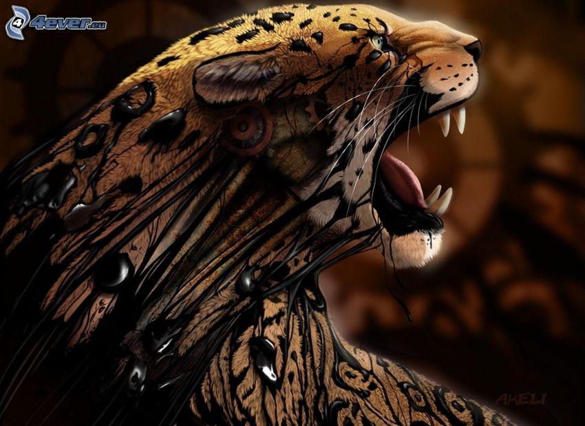 tiger, ryt