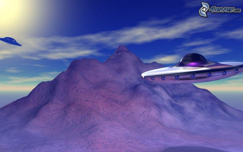 UFO, kulle
