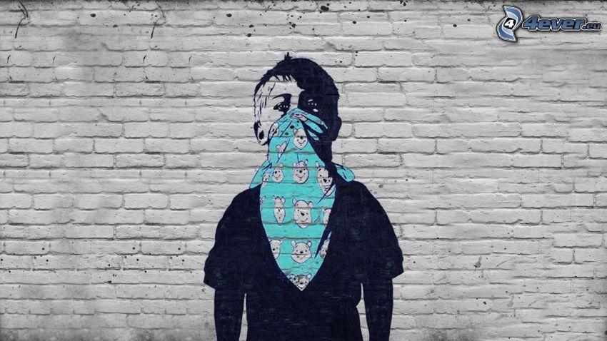 graffiti, pojke