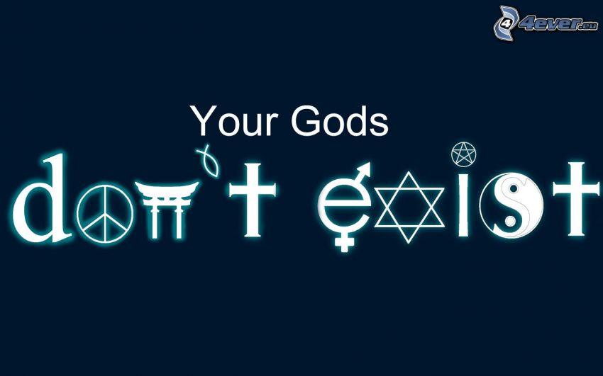 gud, religion, tecken