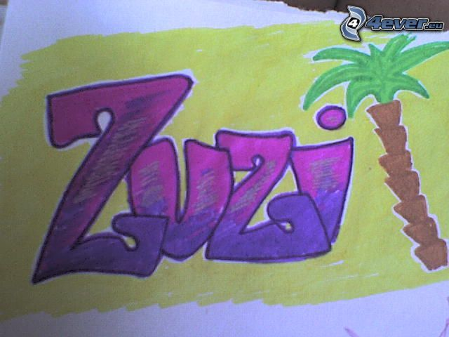 zuzi, graffiti