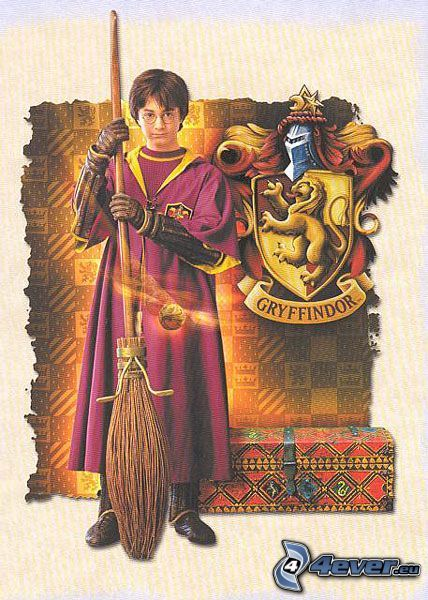 Harry Potter, quidditch, Gryffindor