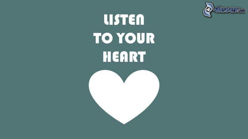 hjärta, text
