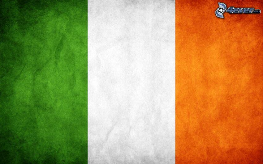 irländska flaggan