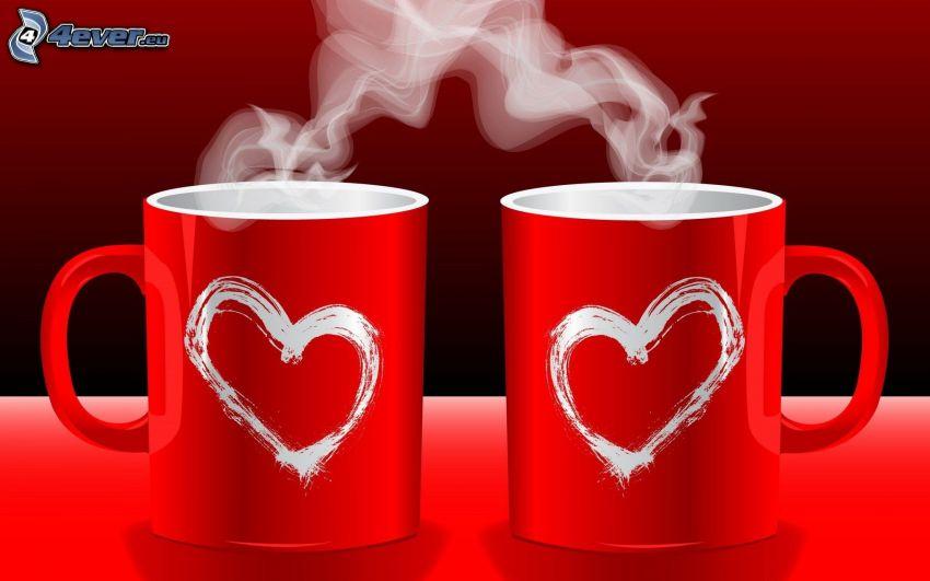 koppar, ånga, hjärtan