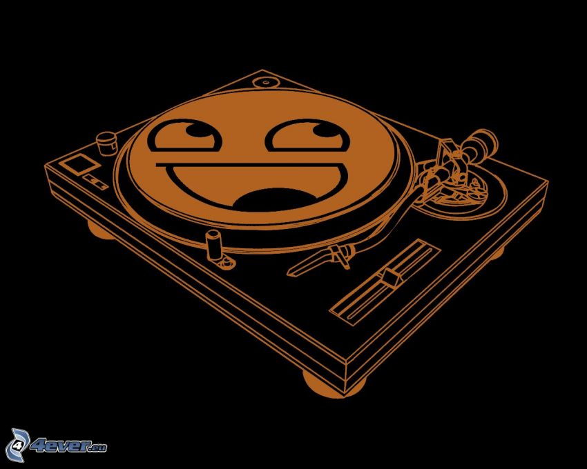 LP-skiva, smiley