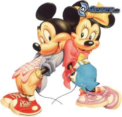 Mickey Mouse, mus, tecknat