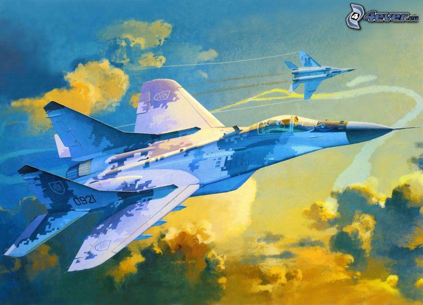 MiG-29, jaktplan