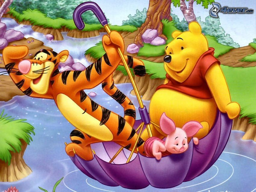 Nalle Puh, Winnie the Pooh, nalle
