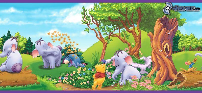 Nalle Puh och vänner, Winnie the Pooh, nalle, saga