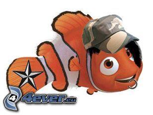 Nemo, emo, fisk, tecknat