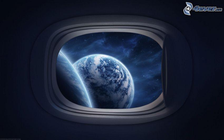 planeten Jorden, fönster
